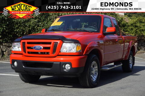 2011 Ford Ranger for sale at West Coast Auto Works in Edmonds WA