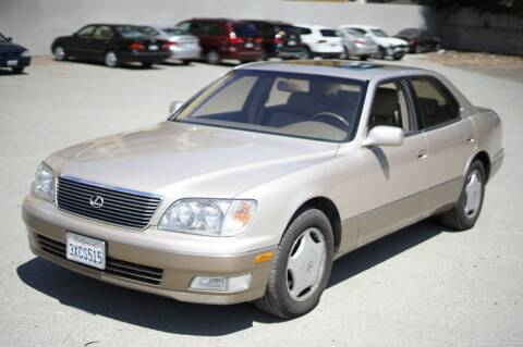 1998 Lexus LS 400 for sale at Sports Plus Motor Group LLC in Sunnyvale CA