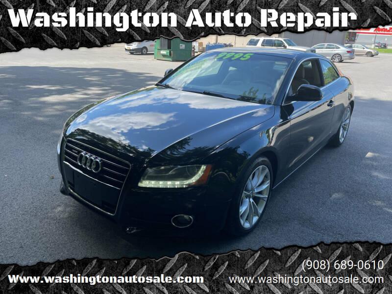 2009 Audi A5 for sale at Washington Auto Repair in Washington NJ