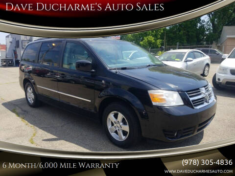 2010 Dodge Grand Caravan for sale at Dave Ducharme's Auto Sales in Lowell MA