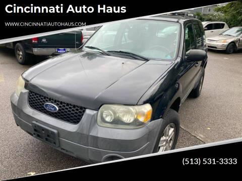 2005 Ford Escape for sale at Cincinnati Auto Haus in Cincinnati OH
