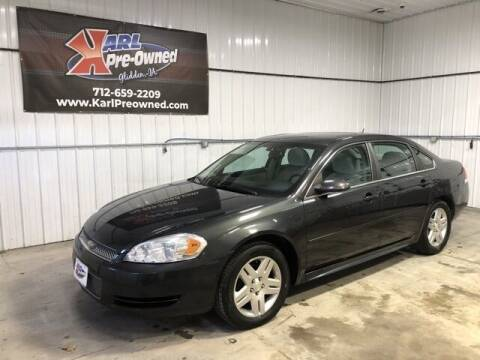2013 Chevrolet Impala for sale at Karl Pre-Owned in Glidden IA