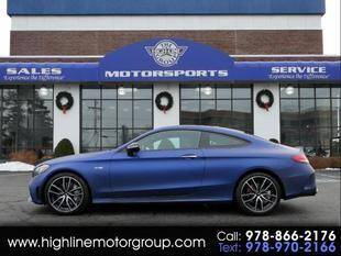 2019 Mercedes-Benz C-Class for sale at Highline Group Motorsports in Lowell MA