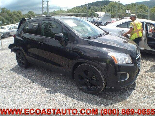 2016 Chevrolet Trax for sale at East Coast Auto Source Inc. in Bedford VA