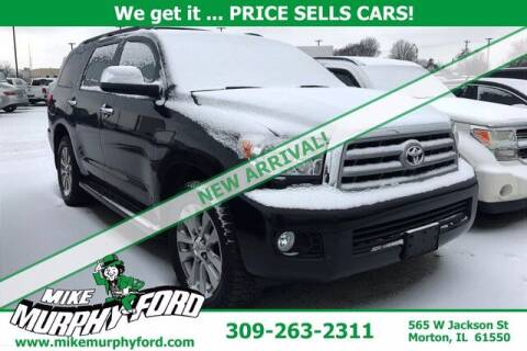 2011 Toyota Sequoia for sale at Mike Murphy Ford in Morton IL