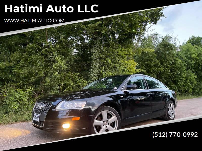 2008 Audi A6 for sale at Hatimi Auto LLC in Austin TX