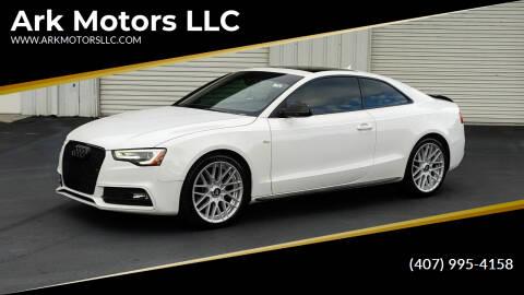 2013 Audi A5 for sale at Ark Motors LLC in Winter Springs FL