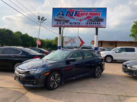 2017 Honda Civic for sale at ANF AUTO FINANCE in Houston TX