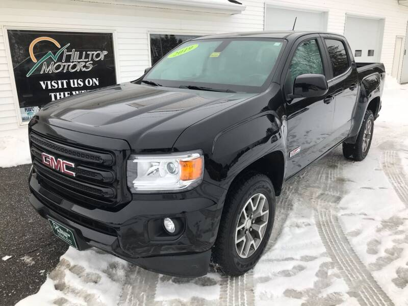 2019 GMC Canyon for sale at HILLTOP MOTORS INC in Caribou ME
