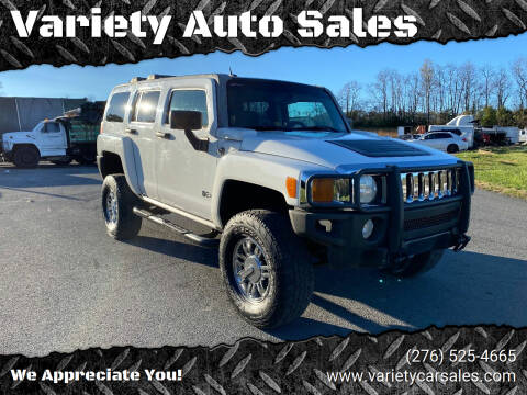 2006 HUMMER H3 for sale at Variety Auto Sales in Abingdon VA