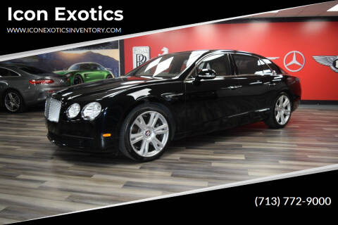 2016 Bentley Flying Spur for sale at Icon Exotics in Houston TX
