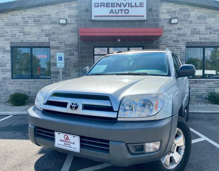 2003 Toyota 4Runner for sale at GREENVILLE AUTO in Greenville WI