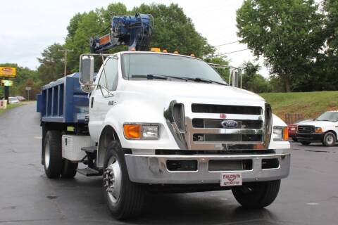2010 Ford F-750 Super Duty for sale at Baldwin Automotive LLC in Greenville SC