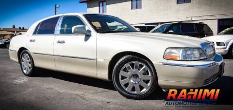 2005 Lincoln Town Car for sale at Rahimi Automotive Group in Yuma AZ
