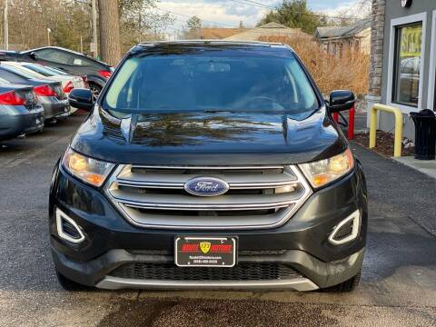 2015 Ford Edge for sale at Route 123 Motors in Norton MA
