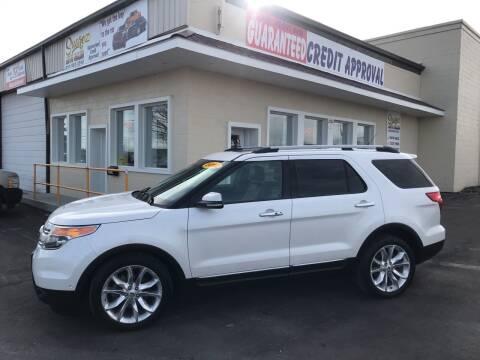 2012 Ford Explorer for sale at Suarez Auto Sales in Port Huron MI
