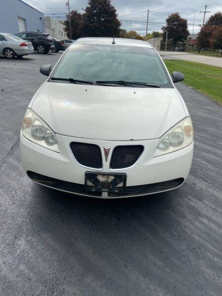 2008 Pontiac G6 for sale at BOSLEY MOTORS INC in Tallmadge OH