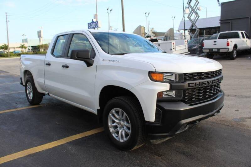 2019 Chevrolet Silverado 1500 for sale at Truck and Van Outlet in Miami FL