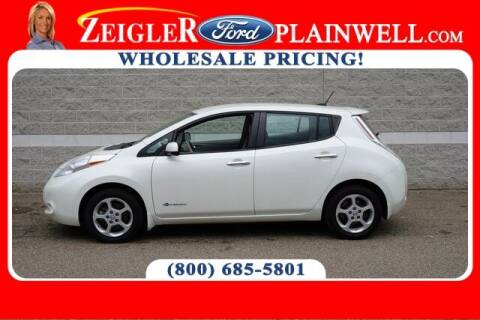 2015 Nissan LEAF for sale at Zeigler Ford of Plainwell- Jeff Bishop in Plainwell MI