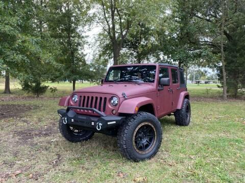 2007 Jeep Wrangler Unlimited for sale at Walker Automotive in Frontenac KS