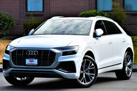 2019 Audi Q8 for sale at SEATTLE FINEST MOTORS in Lynnwood WA