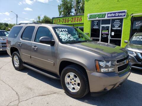 2012 Chevrolet Tahoe for sale at Empire Auto Group in Indianapolis IN