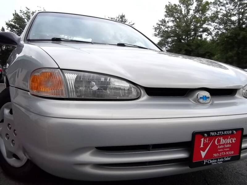 2002 Chevrolet Prizm for sale at 1st Choice Auto Sales in Fairfax VA