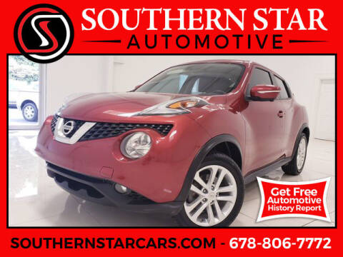 2015 Nissan JUKE for sale at Southern Star Automotive, Inc. in Duluth GA