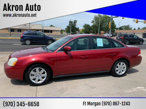2006 Mercury Montego for sale at Akron Auto - Fort Morgan in Fort Morgan CO