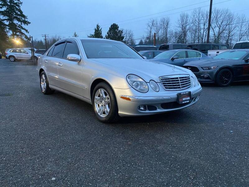 2003 Mercedes-Benz E-Class for sale at LKL Motors in Puyallup WA