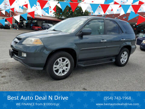 2004 Acura MDX for sale at Best Auto Deal N Drive in Hollywood FL