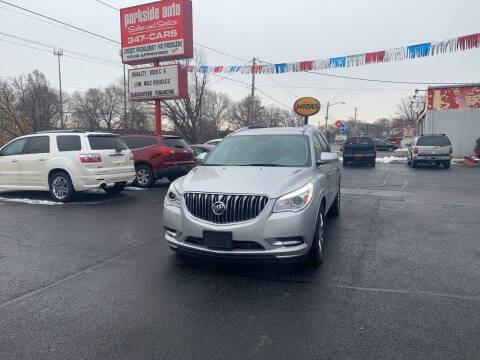 2014 Buick Enclave for sale at Parkside Auto Sales & Service in Pekin IL