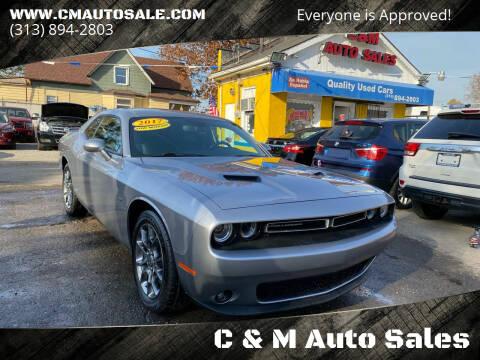 2017 Dodge Challenger for sale at C & M Auto Sales in Detroit MI