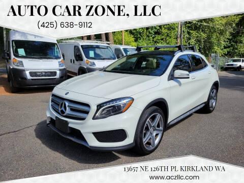 2015 Mercedes-Benz GLA for sale at Auto Car Zone, LLC in Kirkland WA