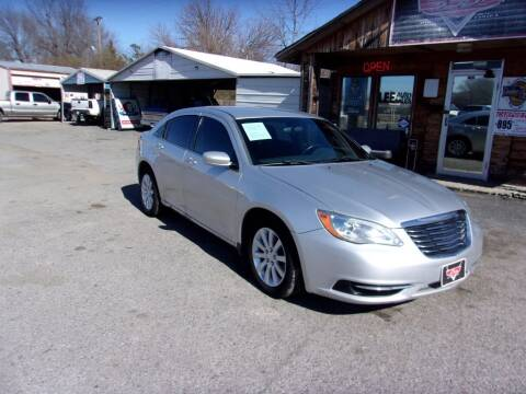 2012 Chrysler 200 for sale at LEE AUTO SALES in McAlester OK