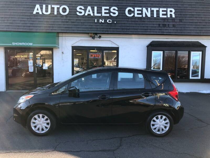 2015 Nissan Versa Note for sale at Auto Sales Center Inc in Holyoke MA