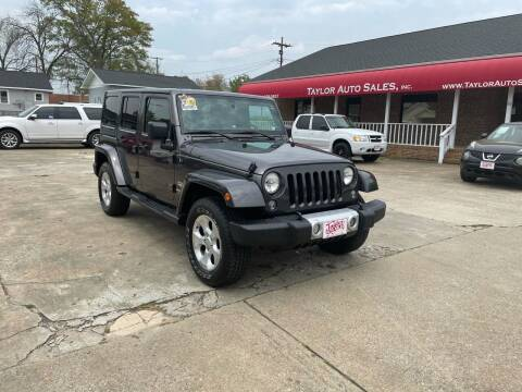 2014 Jeep Wrangler Unlimited for sale at Taylor Auto Sales Inc in Lyman SC