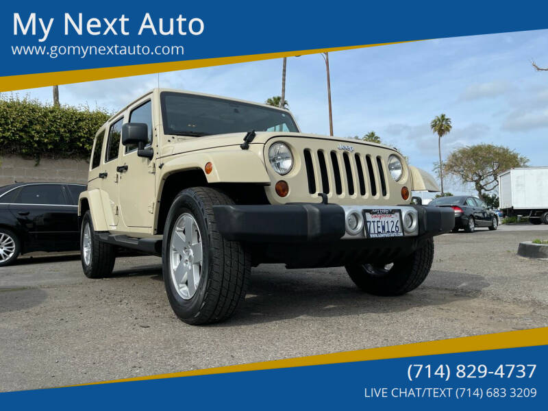 2011 Jeep Wrangler Unlimited for sale at My Next Auto in Anaheim CA