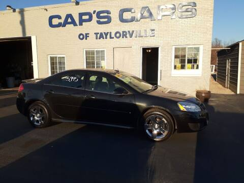 2009 Pontiac G6 for sale at Caps Cars Of Taylorville in Taylorville IL