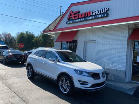 2015 Lincoln MKC for sale at AG AUTOGROUP in Vineland NJ