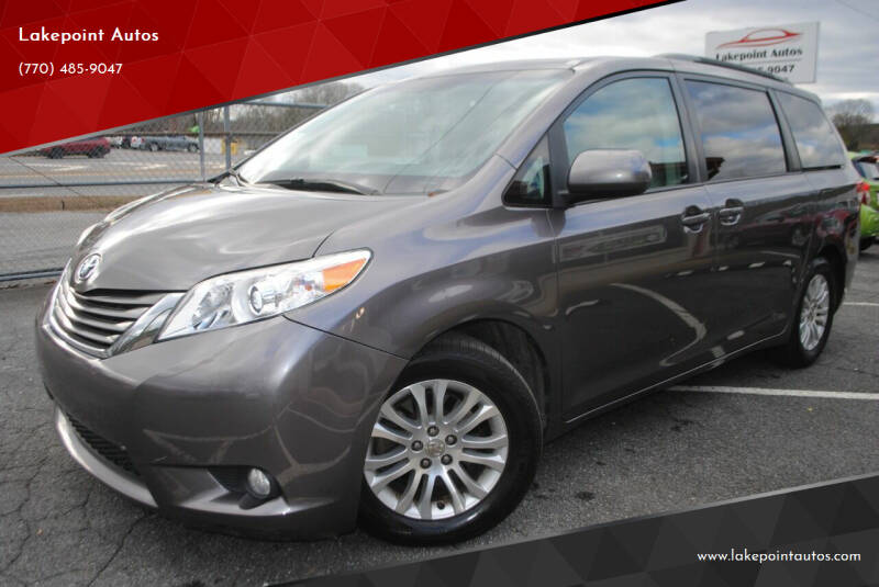 2011 Toyota Sienna for sale at Lakepoint Autos in Cartersville GA