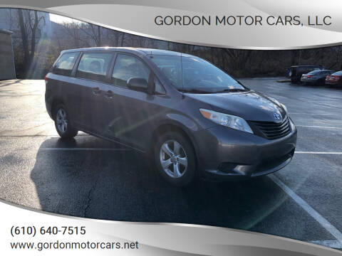 2011 Toyota Sienna for sale at Gordon Motor Cars, LLC in Frazer PA