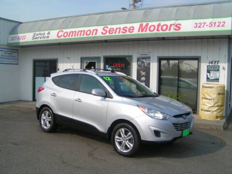 2012 Hyundai Tucson for sale at Common Sense Motors in Spokane WA