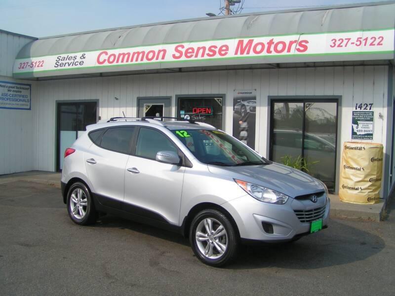 2012 Hyundai Tucson for sale at Common Sense Motors in Spokane WA