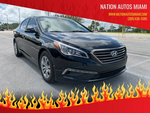 2016 Hyundai Sonata for sale at Nation Autos Miami in Hialeah FL