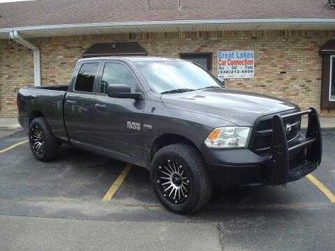 2016 RAM Ram Pickup 1500 for sale at Great Lakes Car Connection in Metamora MI