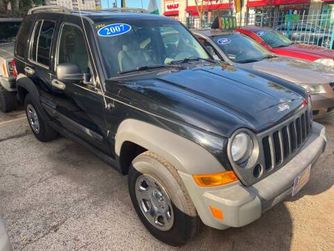 2007 Jeep Liberty for sale at 5 Stars Auto Service and Sales in Chicago IL