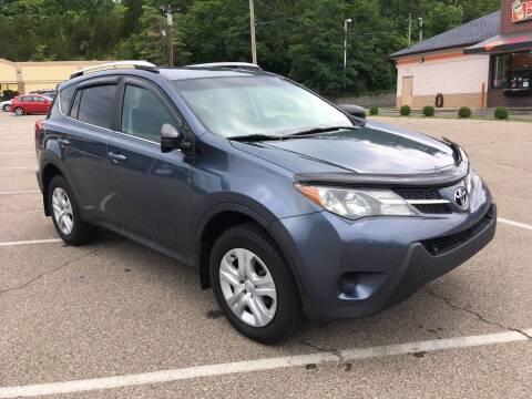 2014 Toyota RAV4 for sale at Borderline Auto Sales in Loveland OH