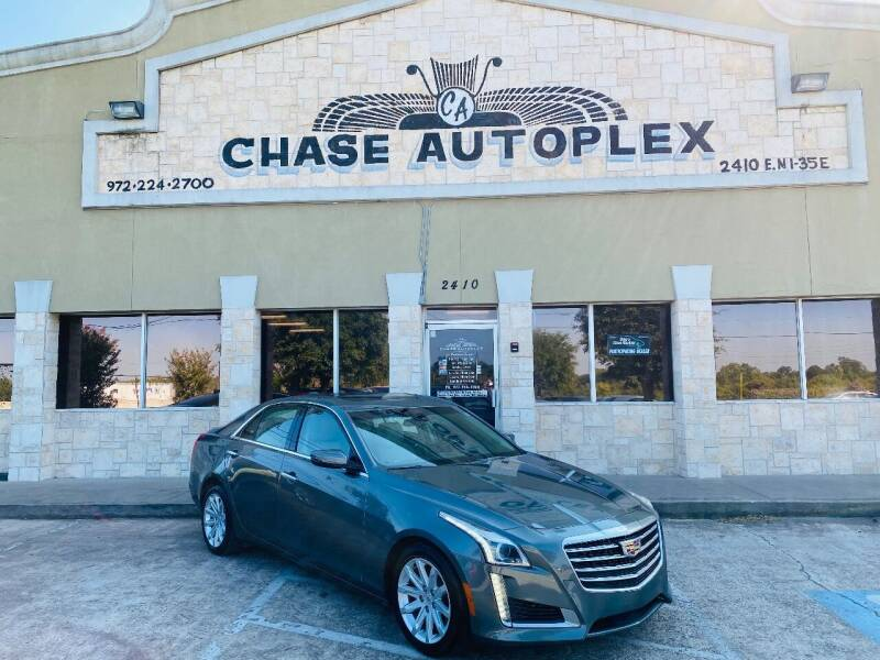 2016 Cadillac CTS for sale at CHASE AUTOPLEX in Lancaster TX