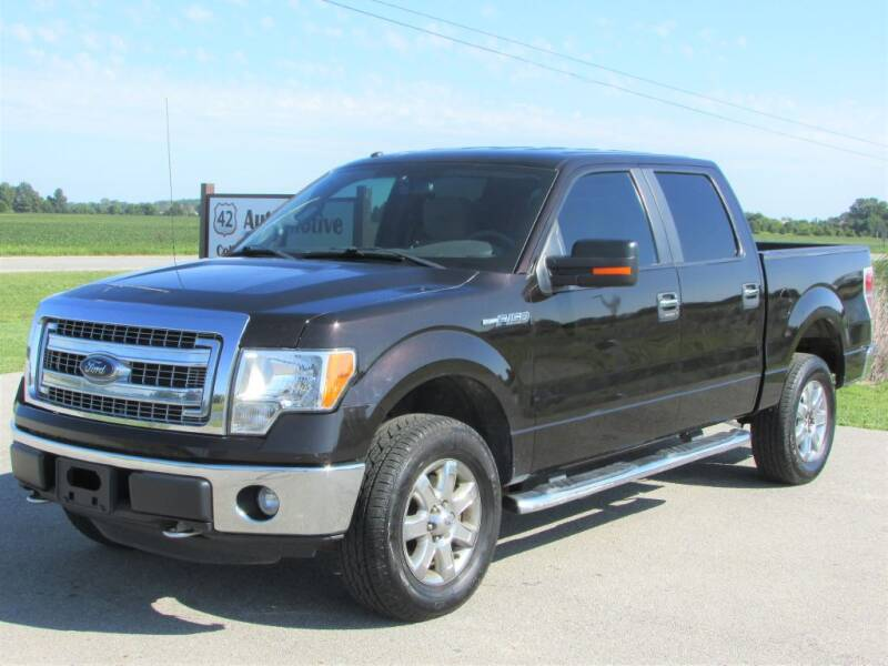 2014 Ford F-150 for sale at 42 Automotive in Delaware OH